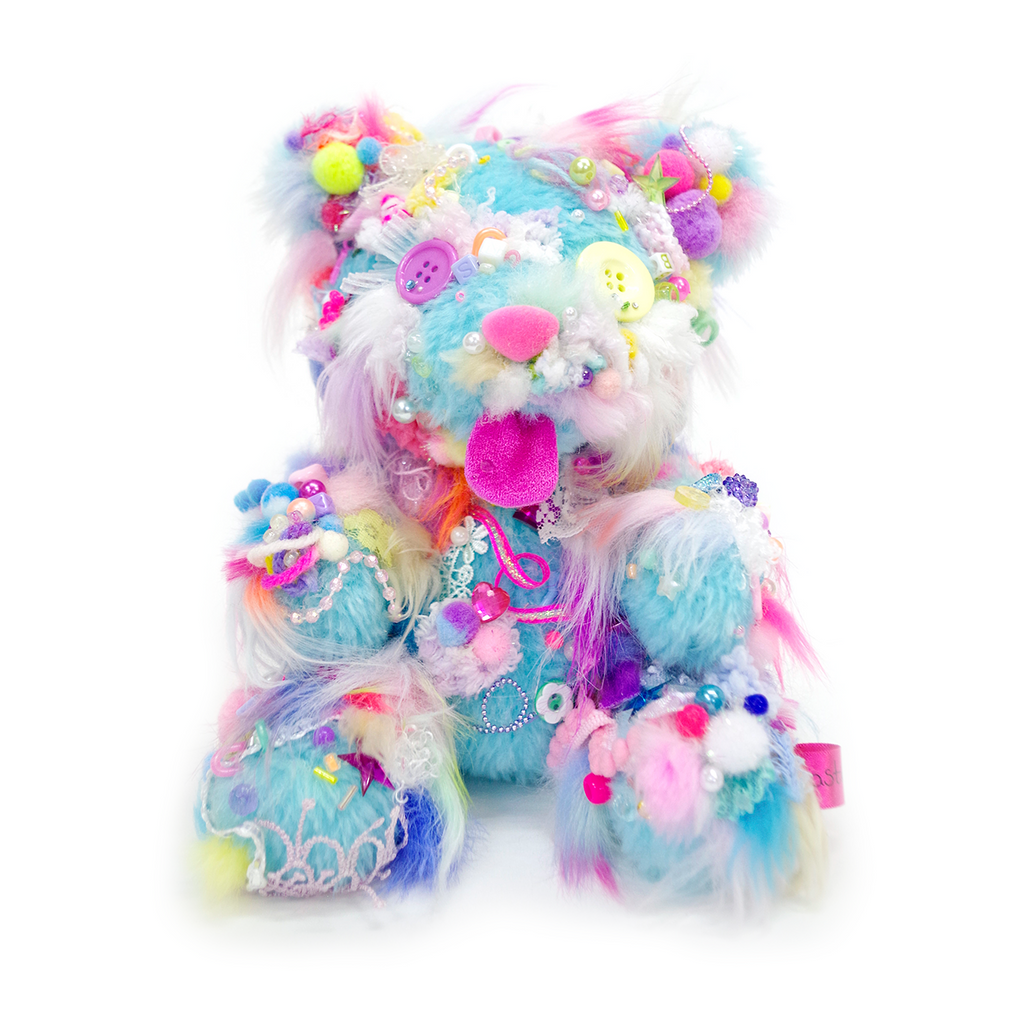 Your Bear no.35 Light Blue <br> Sebastian Masuda <br> 2018