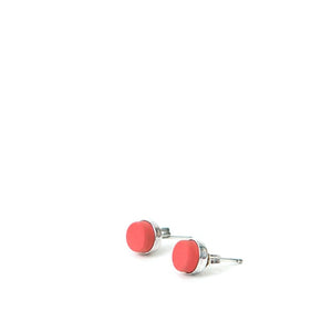 Red Eraser Earrings
