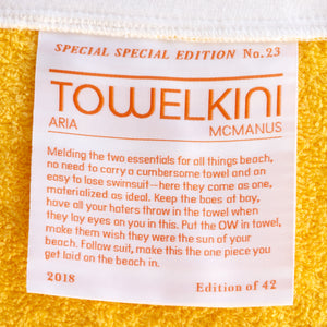 Special Special <br> Edition No. 23 <br> Towelkini <br> Hot Pink