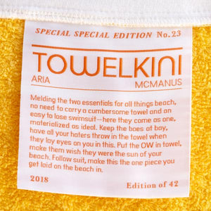 Special Special <br> Edition No. 23<br> Towelkini™ <br> Athletic Gold