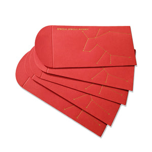 Year of the Ox Red Pocket Envelope 2021 <br>Pack of 5