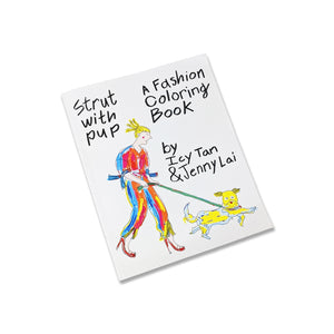 Strut with Pup Fashion Coloring Book