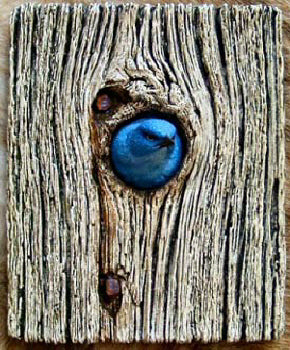 Mountain Bluebird Plaque
