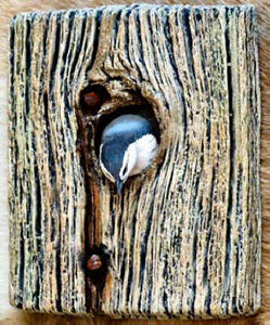 White-Breasted Nuthatch Plaque