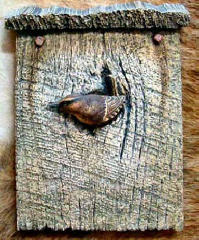 Winter Wren Plaque