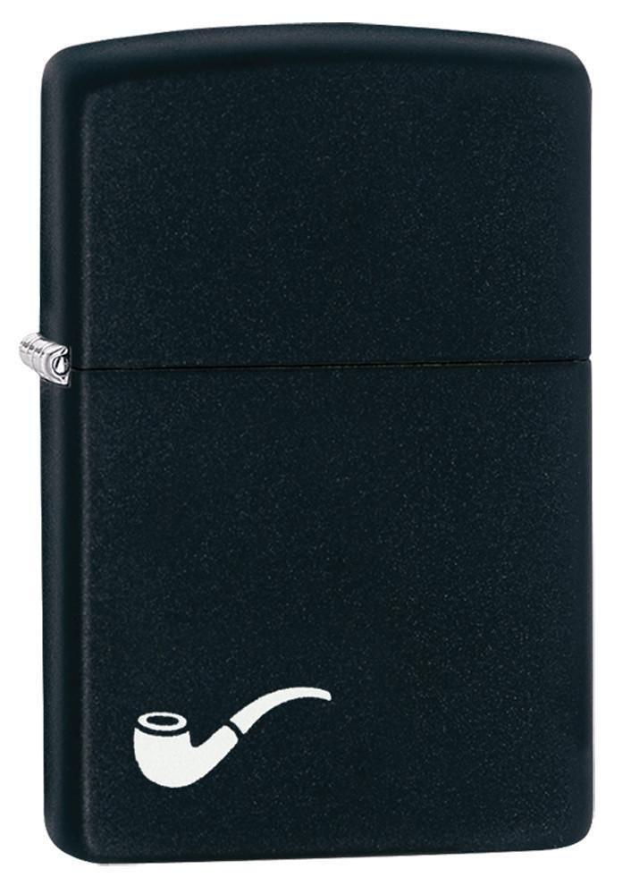 Zippo Pipe Lighter - Matte Black