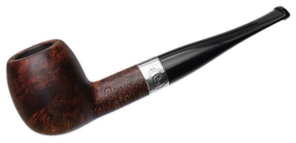 Peterson Pipe: Aran Smooth Nickel Mounted (87) Fishtail