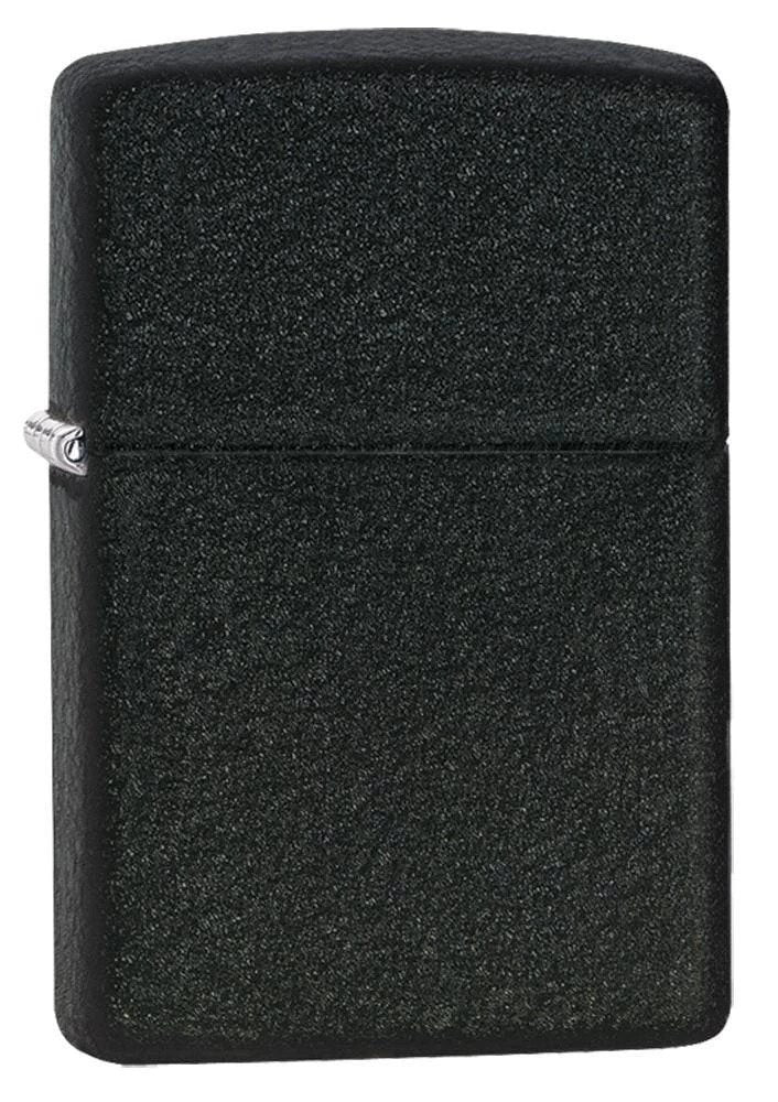 Zippo Pipe Lighter - Black Crackle