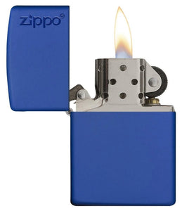 Zippo Pipe Lighter - Classic Royal Blue Matt