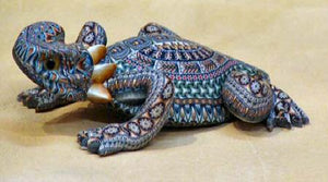 FIMO Horned Toad