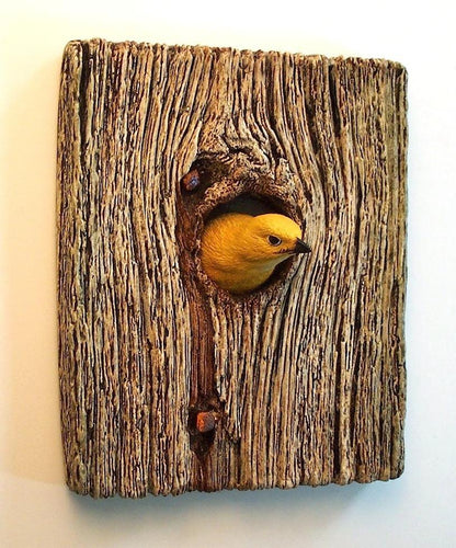 Golden Warbler Plaque