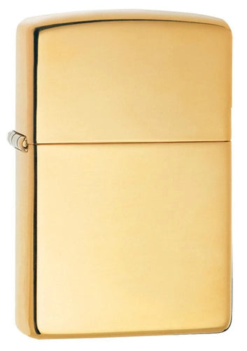 Zippo Pipe Lighter - High Polish Brass