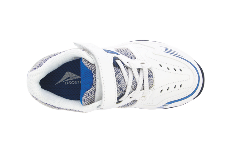 Sustain Jnr (D) White/Navy (129424)