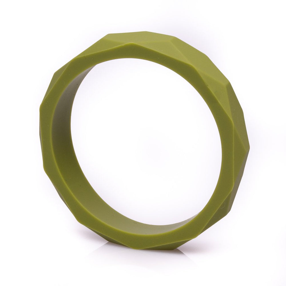 Faceted Silicone Teething Bracelet