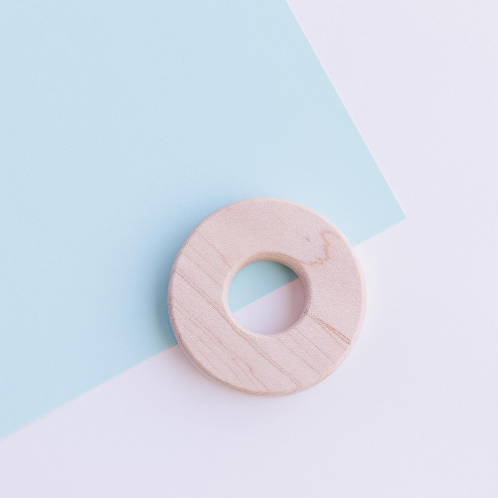 "2.5"" ENGRAVED Small Maple Chomp Supply Wood Ring"
