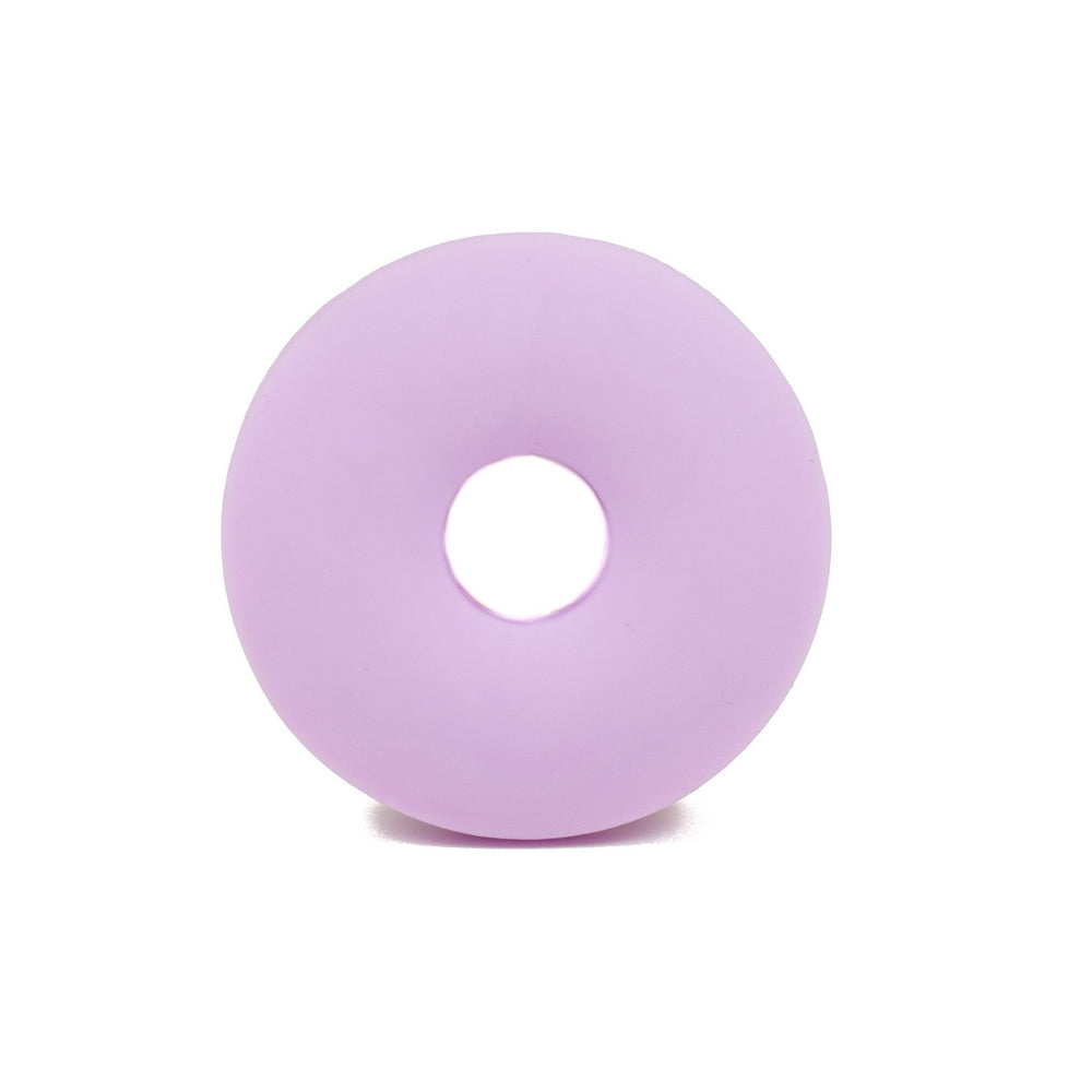 Sprinkle Donut Silicone Teether - Chomp Chew Bead Designs - Wholesale Silicone Beads for Teething and DIY Chewelry Making