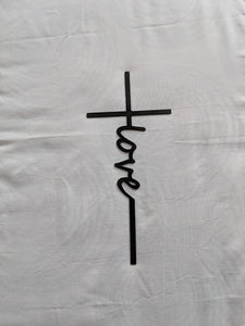 Cross with Love written