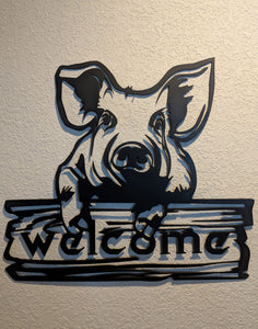 Pig Welcome
