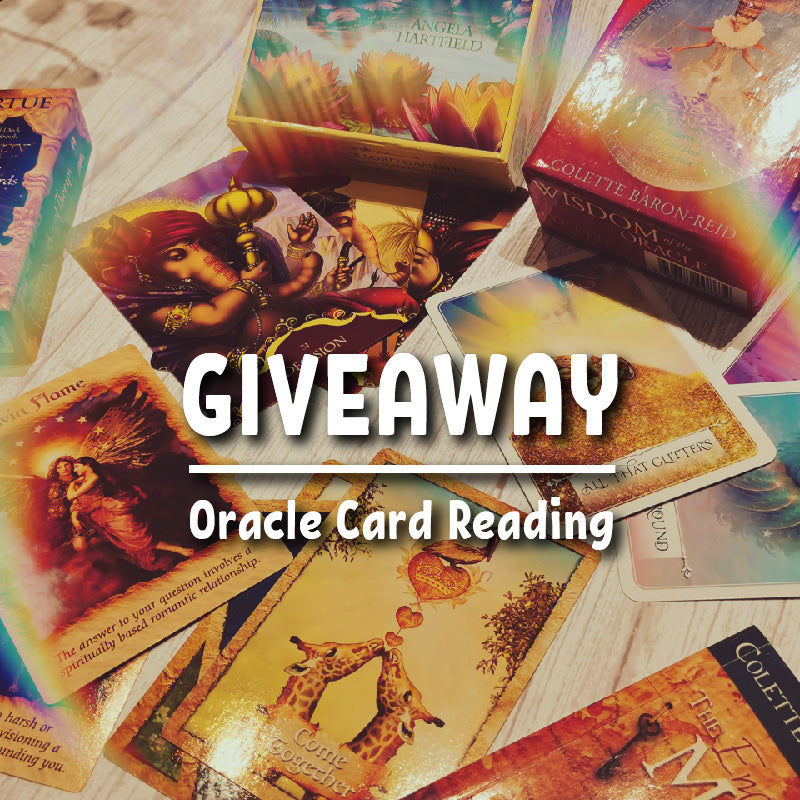 Giveaway! Free card reading!