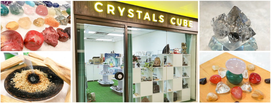 Crystals Cube - Singapore crystal shop