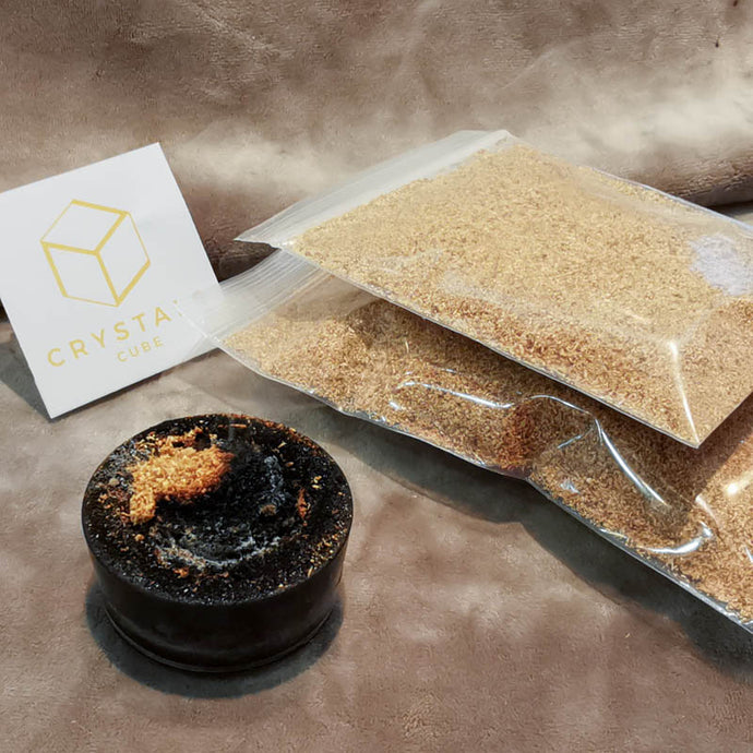 Palo Santo Incense Powder - Cleansing Crystals & Space