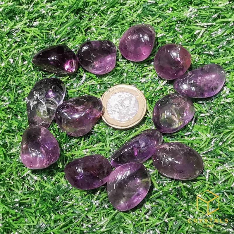 Smoky Amethyst Quartz*** Tumble