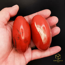 Load image into Gallery viewer, Red Jasper Palm Stone