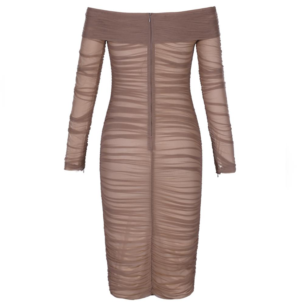 Ruched Bodycon Dress (comes in 2 colors)