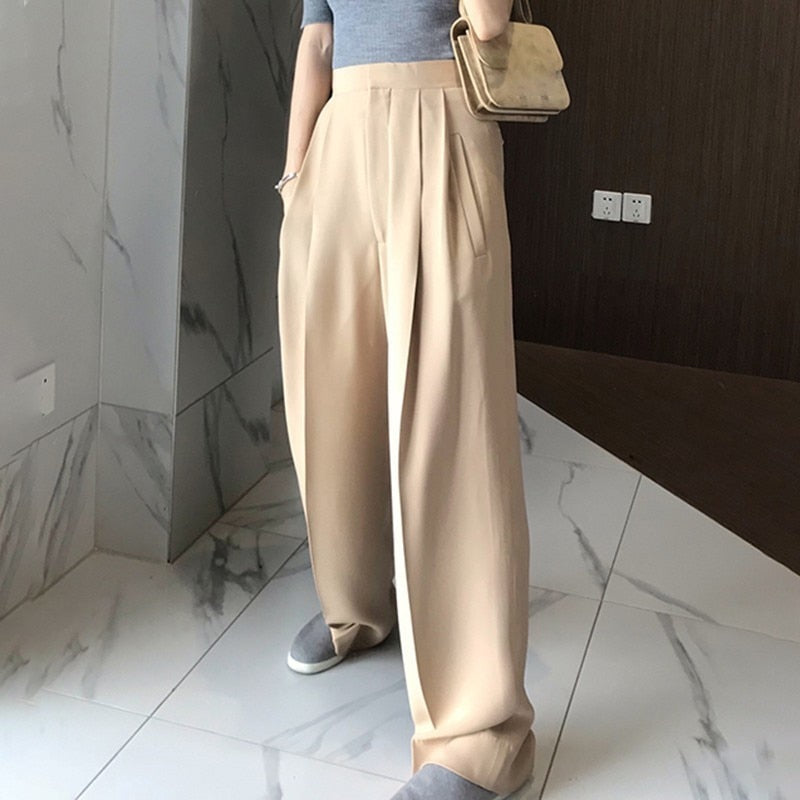 Loose High Waist Pants