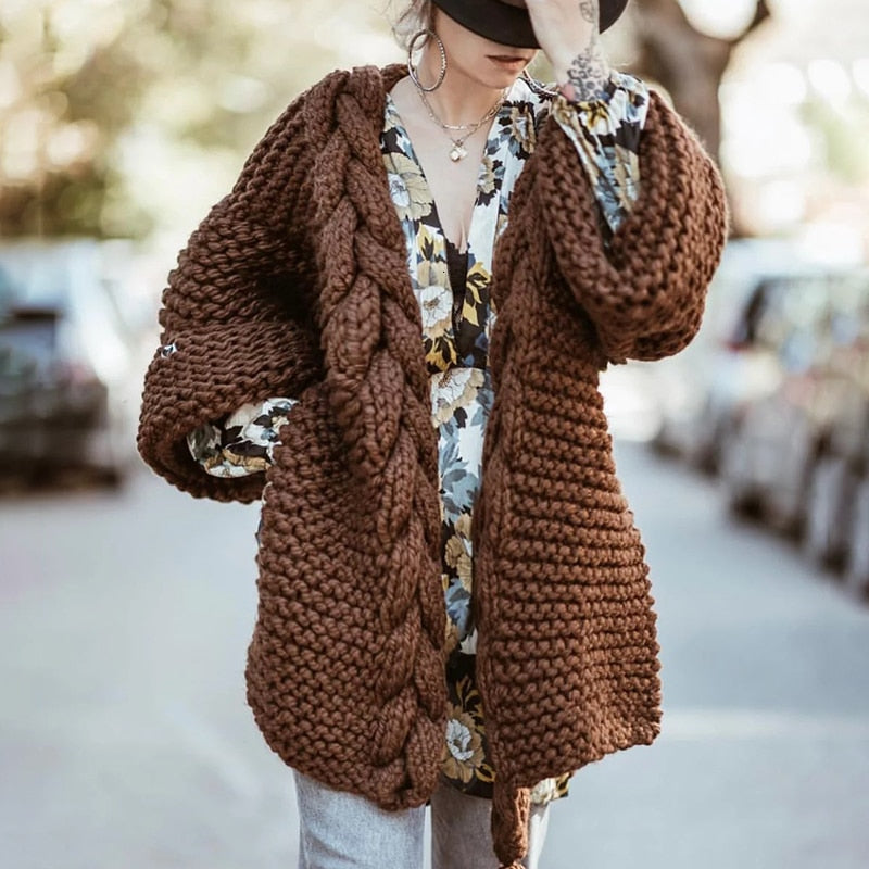 Knit Tassel Sweater
