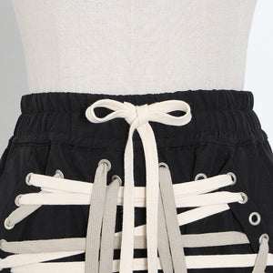 String Mini Skirt