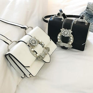 Designer Diamond Lock Bags