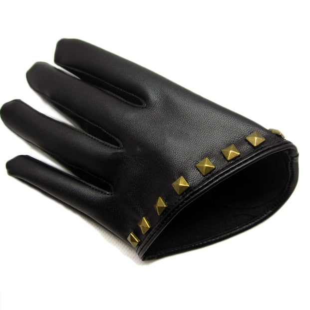 Stylish Studded Gloves