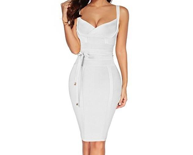 Tie Bandage Dress (comes in multiple colors)