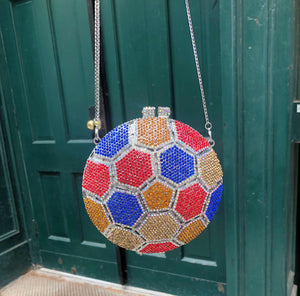 Crystal Soccer Ball Bag