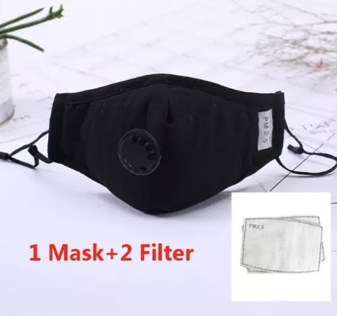 Cotton Adult Face Mask (Multiple Color Options)