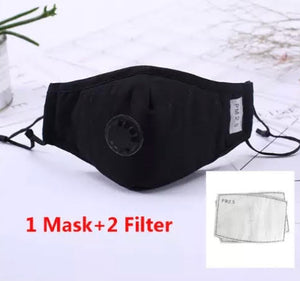 PRE-ORDER: Cotton Adult Face Mask (Multiple Color Options)