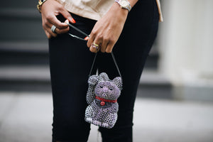 Crystal Cat Bag