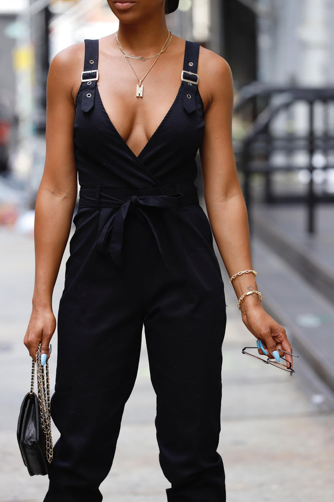 Buckle Strap Jumpsuit