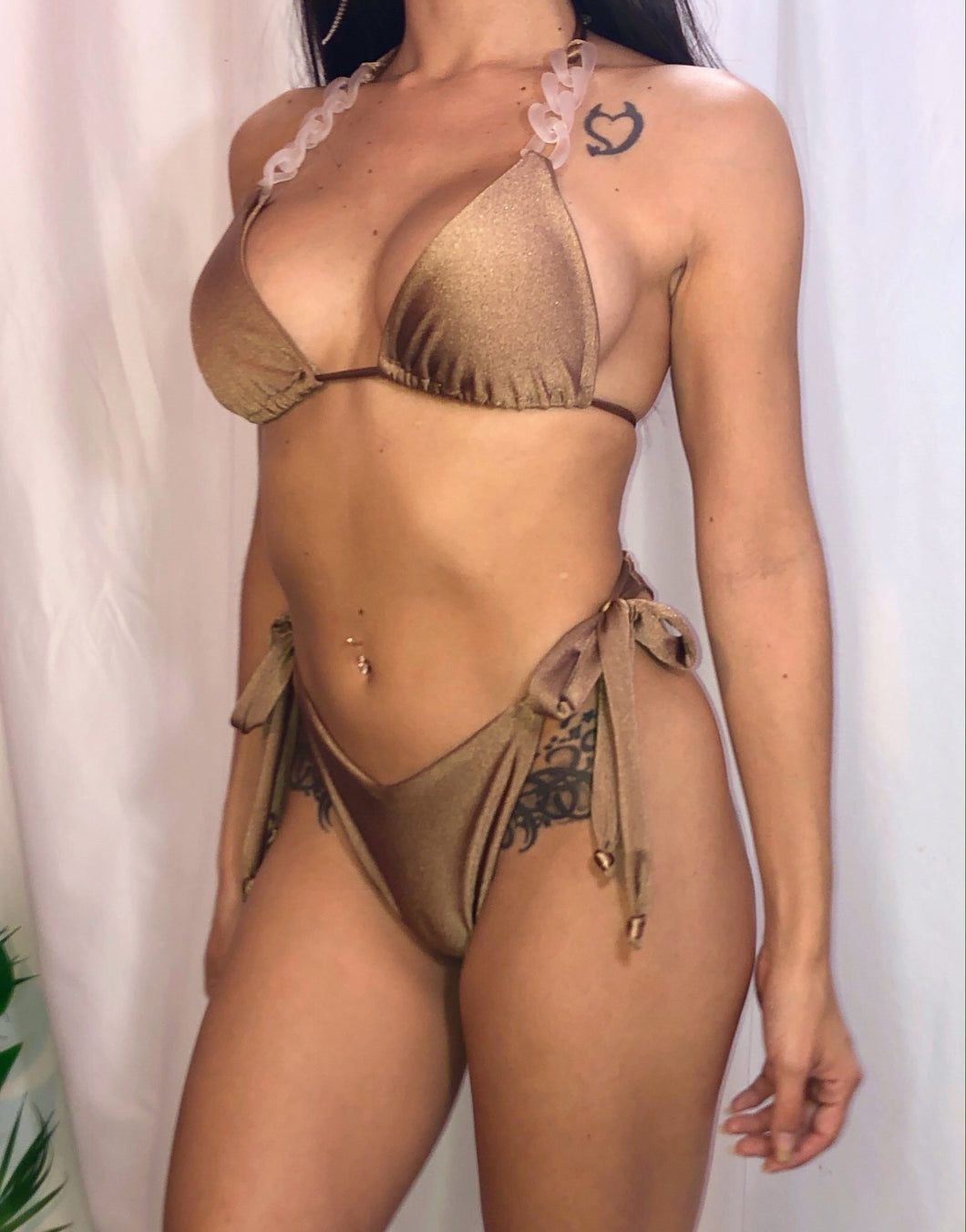 Clara Bikini in Brown Sugar