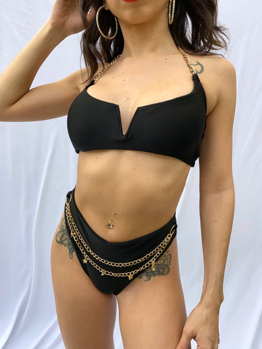 Vashti Bikini with Gold Chains