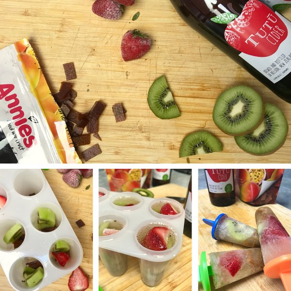 For the adults - Annies and Tutū Cider Pops