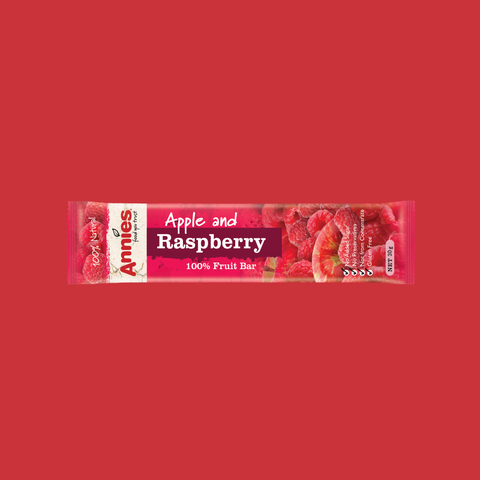 Apple & Raspberry Fruit Bars - 30 x 30g box
