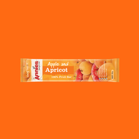 Apple & Apricot Fruit Bars  - 30 x 30g box