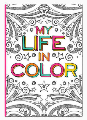 My Life in Color Writing Journal 6 x 8.5