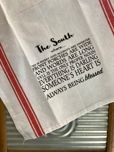 Kitchen Towel - The South