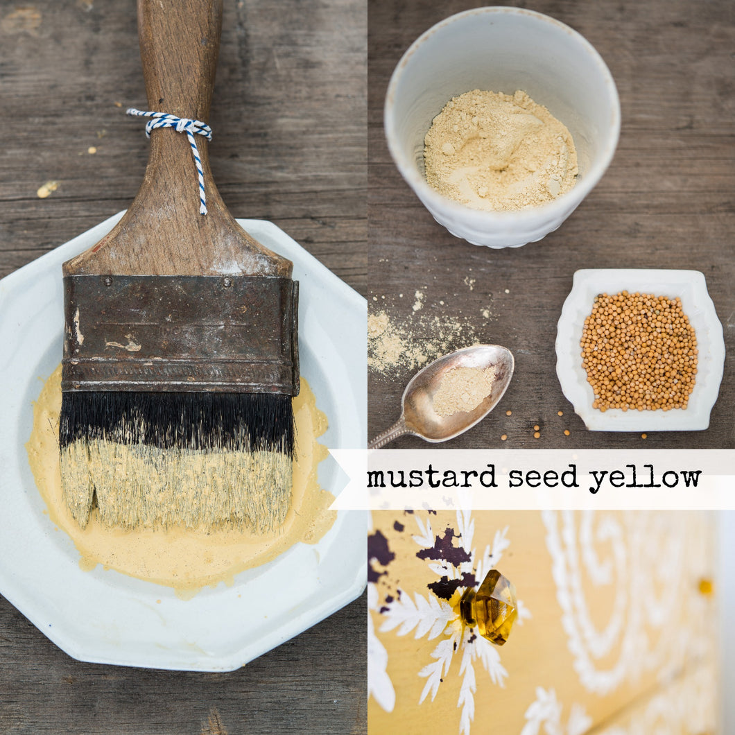 Mustard Seed Yellow Milk Paint