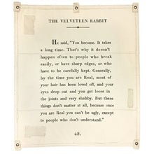 Load image into Gallery viewer, Wall Tarp - The Velveteen Rabbit