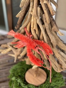 Sisal Lobster Ornament