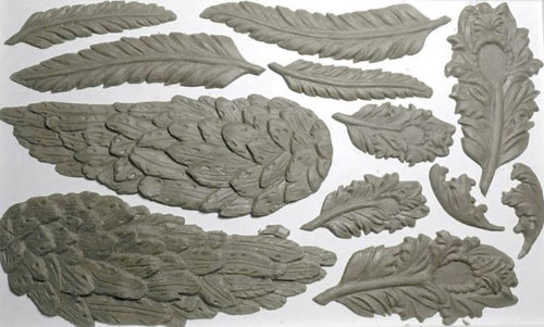 Wings and Feathers 6x10 Decor Moulds